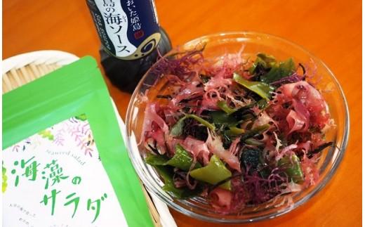10-43六種の大分県産海藻サラダ※ドレッシング付き