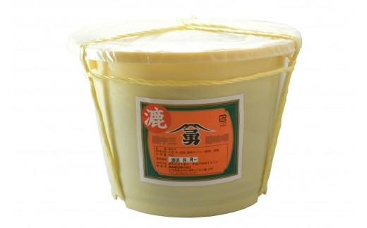 010037 藤勇醸造 樽入り赤味噌(漉)