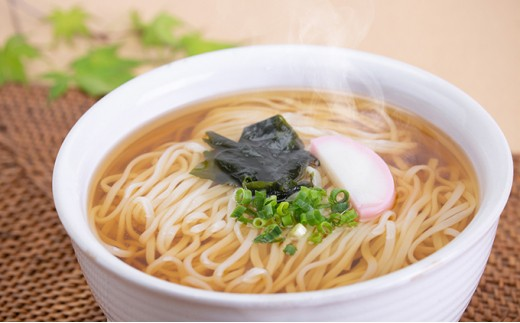 [№5799-0160]創業明治35年蓮実麺業のうどん・そばセット