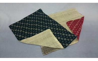 【区外在住の方限定】『 手織り de ほっこり 』 ランチョンマット・2枚BOX入り (和)