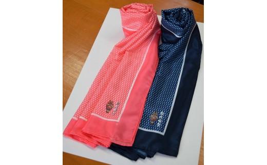 【B69】天空の不夜城 オリジナルスカーフ