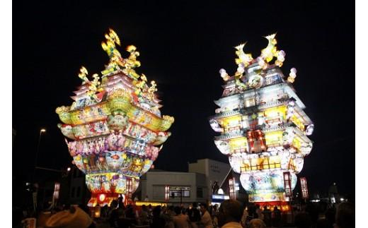 【A77】天空の不夜城 有料観覧席(イス席)