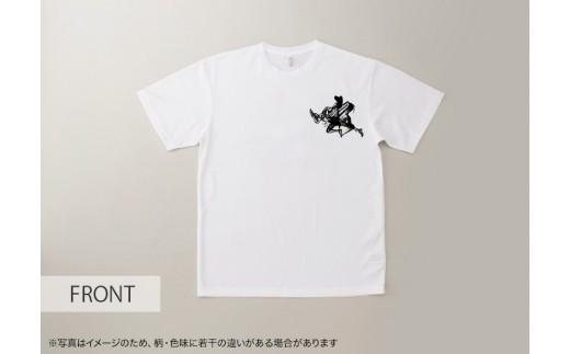 474 墨絵アーティスト西元祐貴 オリジナルTシャツ(白)