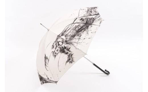 475墨絵アーティスト西元祐貴 オリジナル長傘
