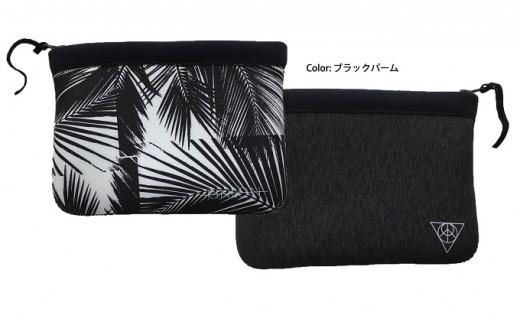 [№5826-0156]Rincon Beach-clutch-bag  color:ブラックパーム