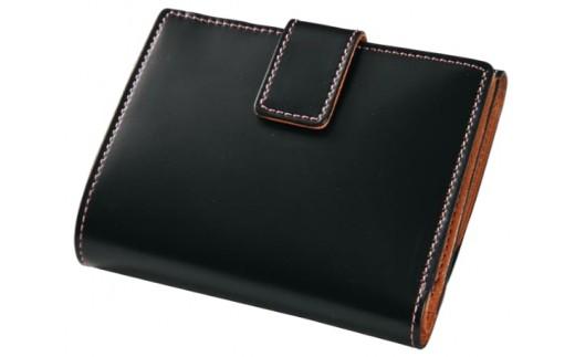 SOMES CNT-02 2つ折財布(ブラック)