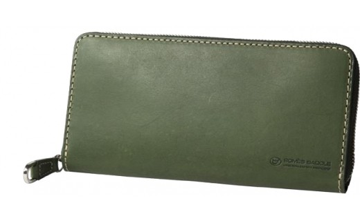 SOMES PA-11 ラウンド財布(グリーン)