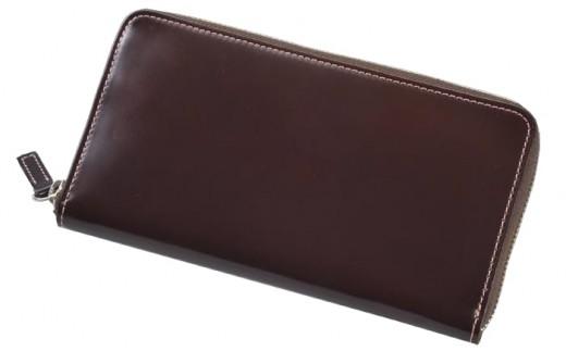 SOMES CNT-04 ラウンド財布(ダークブラウン)