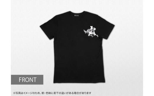 473 墨絵アーティスト西元祐貴 オリジナルTシャツ(黒)
