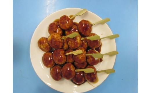 【お弁当やおつまみに】和風団子珍味 親どりつくね串