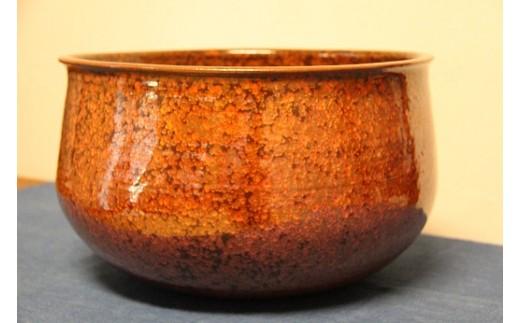 特産品番号193―A 鉄釉窯変鉢