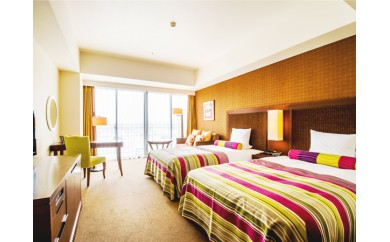 サザンビーチホテル&リゾート沖縄  プレミアムハーバービュー ツイン2名様ご利用(朝食付)