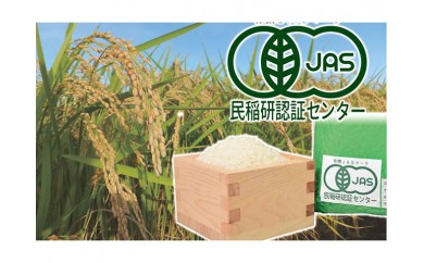 滋賀県産JASオーガニック コシヒカリ 白米5kgX2