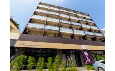 【W002】<HOTEL Mr.KINJO inn D-buil>ペア宿泊券【90pt】