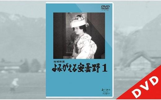 0010-28 地域映画「よみがえる安曇野1」DVD