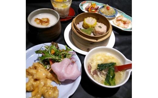 【16-03】恵美寿「点心ディナー」×2枚