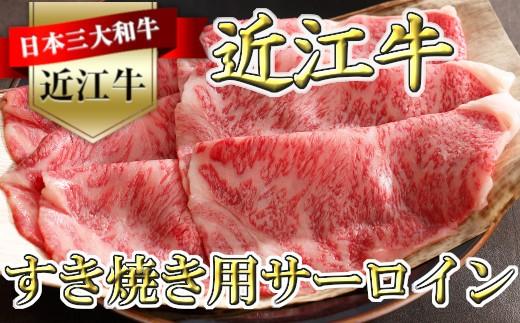 近江牛[特]すきやき用サーロイン500g【Y034-C】