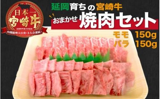 A28 延岡育ちの宮崎牛 おまかせ焼肉セット