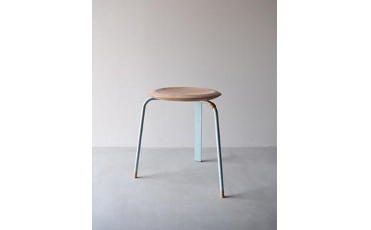 12MA11 Tone stool / Light blue