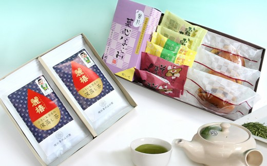 A-129 曽於のお茶の時間 詰め合わせ②