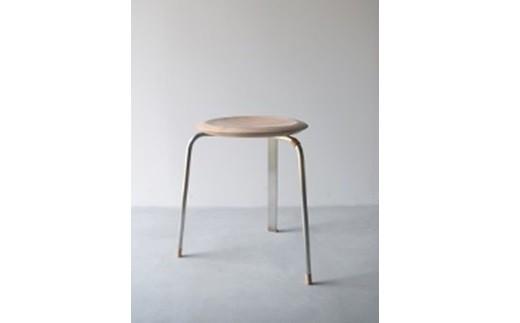 12MA12 Tone stool / Silver