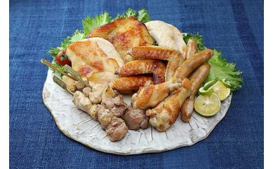 (17,000pt)【三重が誇るブランド地鶏】熊野地鶏食べつくしセット