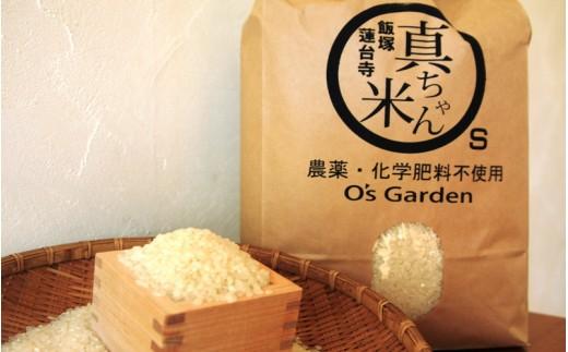 【A-148】農薬・化学肥料不使用 真ちゃん米 5kg 新米
