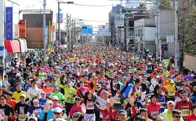 [№5714-0039]第53回青梅マラソン大会30キロの部出場権利