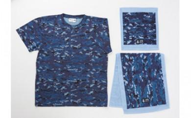 海上自衛隊デジタル迷彩グッズ(TシャツXLサイズ)