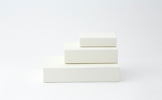一新堂/ISSHINDO FOLDING BOX 3箱White