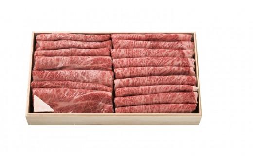FY18-653 山形牛 すき焼用(4等級以上)