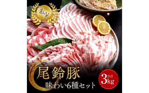 B17 【希少】尾鈴豚味わいセット