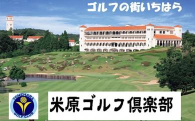 [№5689-0347]米原ゴルフ倶楽部【平日1R】セルフプレー券4枚(昼食付)