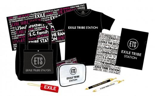 m024【数量限定】EXILE TRIBE STATION Bセット  (株)LDH JAPAN