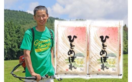 NA349 平成30年産 農家直送 鳥海山麓やわたの米 ひとめぼれ10kg TR