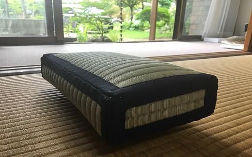 天然藺草の枕とコースターのセット