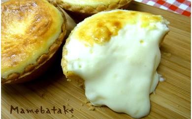 お菓子屋豆畑のとろけるチーズタルト6個入り