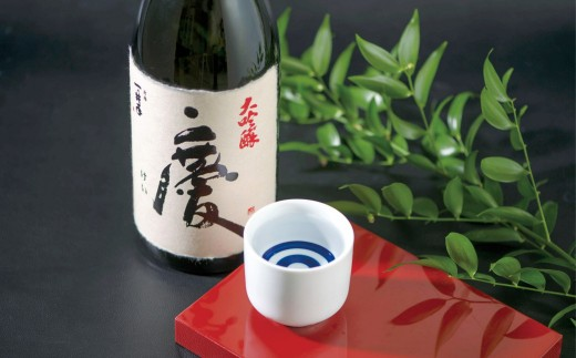 最高級の酒造好適米を使用!大吟醸 慶(1800ml)
