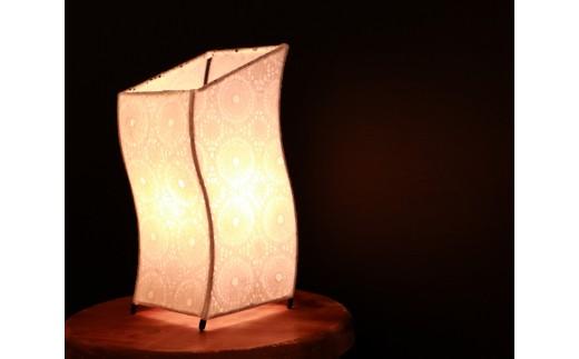 N24 <流山あかり館@雑貨Konocono> 美濃和紙の灯り テーブルランプ 宙(SS3014)