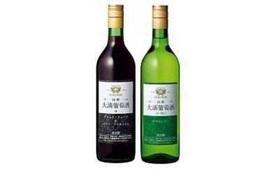 C089 大浦葡萄酒赤白セット