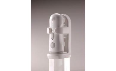 ブラザーエンタープライズ: 震度4相当の揺れを察知すると点灯する多機能型ライト(MAMORIA-3H グレー)