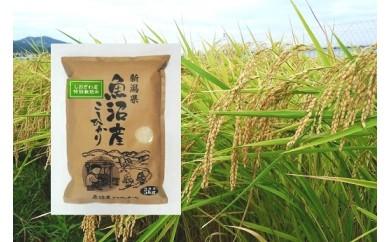 特別栽培米 南魚沼『塩沢産コシヒカリ』精米 5kg×1袋