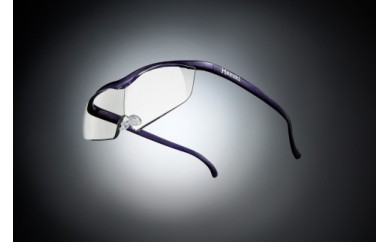 ハズキルーペ(ラージ) 1.6x クリアレンズ-VI(紫)<№4964594732098>