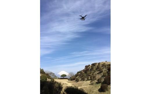 四季折々の山中城跡をドローンで撮影した映像DVD&撮影イベントでのスペシャル撮影