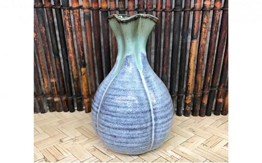 [№5566-0055]松代焼 花型花瓶