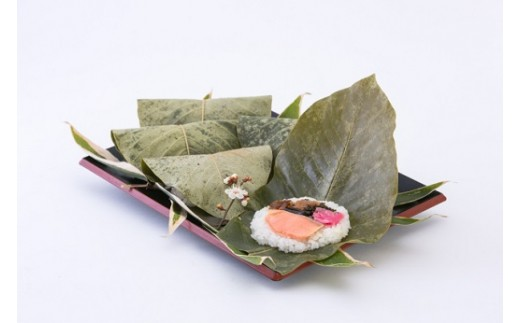 朴葉寿司(おばちゃんの店 白川茶屋)