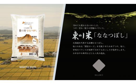 【0000007】【H30年産新米受付】北海道初地域ブランド 東川米「ななつぼし」無洗米10kg(12月中旬)