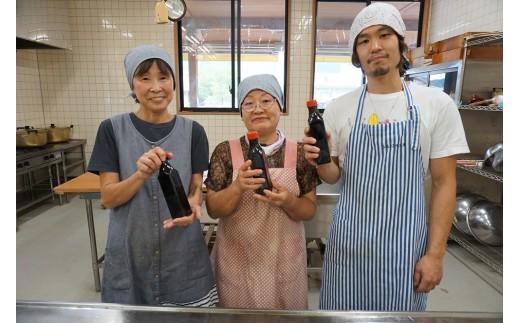 だしの旨みと香りが広がる手作りだし醤油です