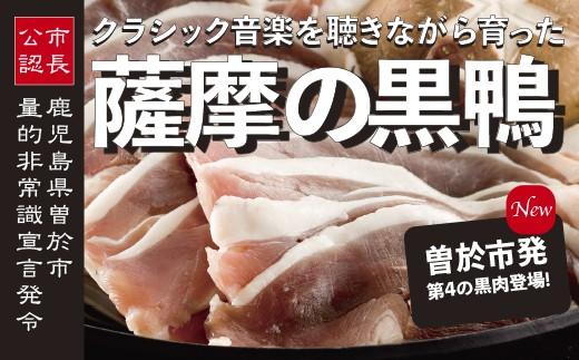 30-A-36 薩摩「黒鴨」鍋セットA