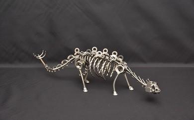 オールステンレスネジ恐竜 ステゴサウルス